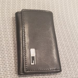 Gucci Black Leather Key Holder